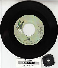 "BREAD  Diary 7"" 45 rpm vinyl record + juke box title strip BRAND NEW OLD STOCK"