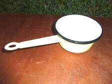 Ancienne jolie casserole émaillé marque JAPY MARNE pour cuisine vintage
