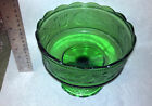Vintage Green Candy Dish Glass E O Brody Company rare