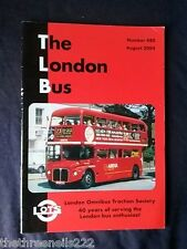 THE LONDON BUS #480 - AUG 2004