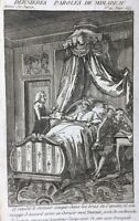 Mort de Mirabeau 1791 Révolution Française Gravure Révolutions de Paris