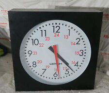 Leitch 12inch analog studio clock  (adc5112)  (ref 2)