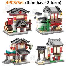 Antiquity Chinese Shipping Street View Building Block City Toys KAZI Block