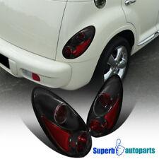 2001 2005 Chrysler Pt Cruiser Replacement Tail Lights Brake Lamps Black Pair