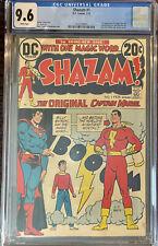 Shazam #1 - CGC 9.6 - Fist Appearance Of Captain Marvel Since The Golden Age