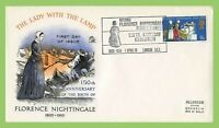 G.B. 1970 Anniversaries 9d Sovereign First Day Cover, Florence Nightingale