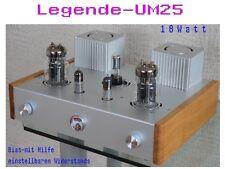 """HighEnd Röhrenverstärker mit 6C33C  2x15 Watt Stereo """"Legende-UM25"""""""