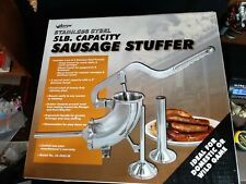Weston 5 Lb. Capacity, Sausage stuffer, stainless steel, 36-0005-W