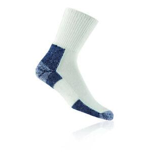 Thorlo Unisex THOR Crew White Heavy Padded Gym Training Sports Running Socks New