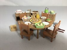 New ListingCalico critters/sylvanian families Kitchen Furniture With Dinner