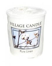 Village Candle Votive Sampler Highly Fragranced 16 Hour Burn Time Pure Linen