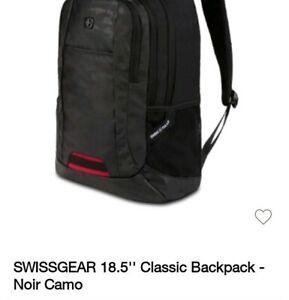 Swiss Gear  Black Noir Camo with Laptop Pocket