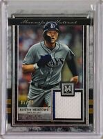 AUSTIN MEADOWS 2020 TOPPS MC GU JERSEY SWATCH RELIC CARD TAMPA BAY RAYS #d/50