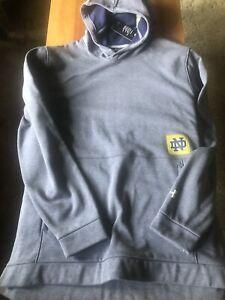 Notre Dame Men's Hooded Sweatshirt 4XL