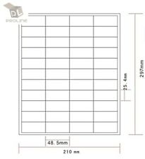 Amazon Fba Label 1000 Sheets 44000 Labels 44up Labels 485254mm On A4