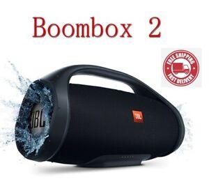 Boombox 2 Portable Bluetooth Wireless Outdoor Speaker IPX7 Waterproof Loudspeake