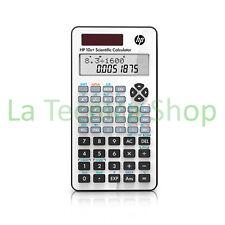 HP 10S+ calcolatrice scientifica ORIGINALE, display 2 righe, manuale italiano