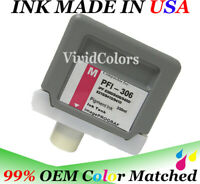 Replacement Pigment Magenta PFI306 ink cartridge  for Canon iPF9400s