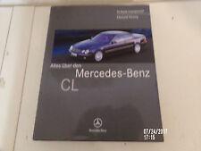 Alles über den Mercedes CL 500 * CL 600 Coupe Schönes Buch 1.Auflage von 1999