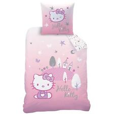 Hello Kitty Biber Bettwäsche Flanell 80 x 80 cm / 135 x 200 cm
