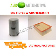 PETROL SERVICE KIT OIL AIR FILTER FOR LAND ROVER FREELANDER 2.5 177 BHP 2000-06