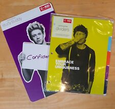 NEW One Direction Divider Tab Set + 1 NIALL Study Buddy, 2013 OD Promotion