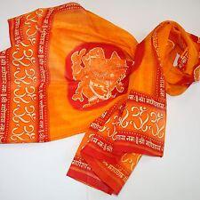 Schal Tuch Lunghi Sarong  Mantra  Benares Dekotuch OM Ganesh Goa Hippie 10