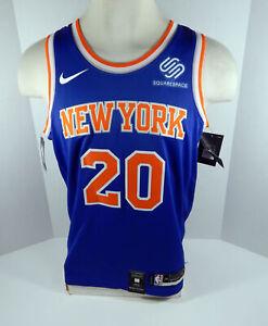 Mens New York Knicks Kevin Knox #20 Blue Icon Jersey Swingman XL Nike NWT