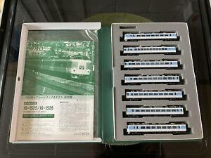 Kato N Gauge 10-1525 189 Series Grade-Up Azusa 7-car EMU set - DCC ready