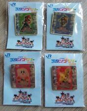 Nintendo Super Smash Bros pins JR 2002 COMPLETE , Mario , Zelda Kirby RARE PROMO