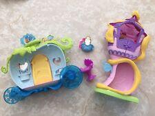 Disney Princess Little Kingdom Rapunzel's Stylin' Tower Cinderella Carriage Lot