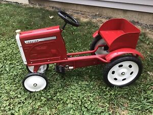 PEDAL TRACTOR NEVER RODE ON LIMITED EDITION