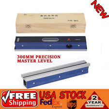 12 Precision Master Level Bar Lvel 002mmm Accuracy For Machinist Tool Usa