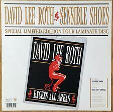 """Van Halen  Sensible Shoes    1991 UK 12"""" x 12""""  Promo In-store Display Flat"""