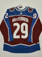Adidas Nathan Mackinnon Colorado Avalanche Aeroready Authentic Jersey Size 60