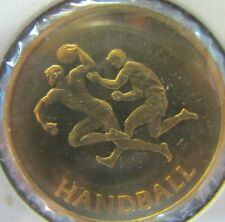 1980 MOSCOW OLYMPICS HANDBALL Medallion Official PNC Collection Medal