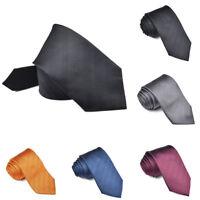 Genuine 100% Silk Ties Luxury Men's Herringbone Ties Classic Soild Silk Ties H