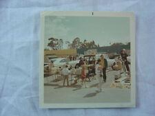 Vintage Photo Junk Dealers 1960s Cars Drive In Theater Swap Meet Flea Market 785