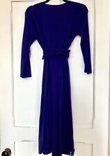 575b4e74bef Isabella Oliver Size 2 Purple Maternity Nursing Wrap Dress List  149