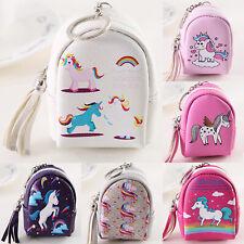 7d4cd16409032d Women Girl Unicorn Coin Purse Small Change Wallets Mini Pouch Cartoon  Handbags