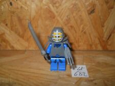 #682# LEGO FIGURINE NINJAGO JAY KENDO AVEC ARMES 100% LEGO ORIGINAL