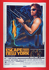 Escape From New York Snake Plissken Kurt Russell Sci-Fi Movie Poster 24X36 Eny2