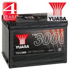 Yuasa Car Battery Calcium 12V 570CCA 70Ah T1 For Rolls Royce Silver Shadow 2 6.8