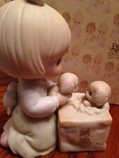 """Precious Moments C-0009 """"Always Room For One More"""" Figurine Bow & Arrow Mark"""
