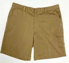 Falls Creek men's shorts pants khakis polyester spandex size 40