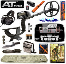 NEW Garrett AT PRO Metal Detector PREMIUM BUNDLE With PRO-POINTER AT & MORE !