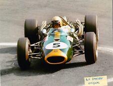 JACK BRABHAM FI CHAMPION 1959-1960-1966 MEXICO BT20 Repco V8 2ND 8 X10 PHOTO 5