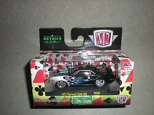 1/64th M2 Machines Wild Cards Ground Pounder 1971 Plymouth Hemi Cuda 383 Blk
