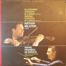 Nathan Milstein - Glazounov & Dvorak: Vinlio Concerto (LP NM)