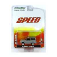 Greenlight 44860-E Ford Bronco silber - Hollywood Series Maßstab 1:64 NEU!°